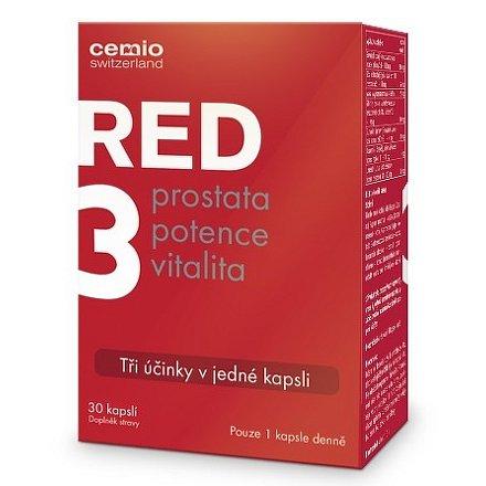 Cemio RED3 30 kapslí