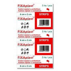 Fixaplast STRIP 6 x 2 cm náplast 5 ks