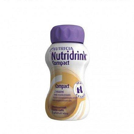 Nutridrink Compact s přích.Kávy perorální roztok 4 x 125 ml