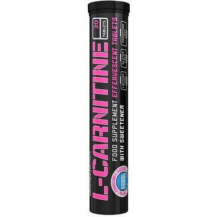 BiotechUSA Effervescent L-Carnitine 500 mg 20 tbl Blueberry-Raspberry