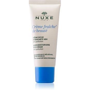 Nuxe Crème Fraîche de Beauté zklidňující a hydratační krém pro suchou až velmi suchou pleť  30 ml