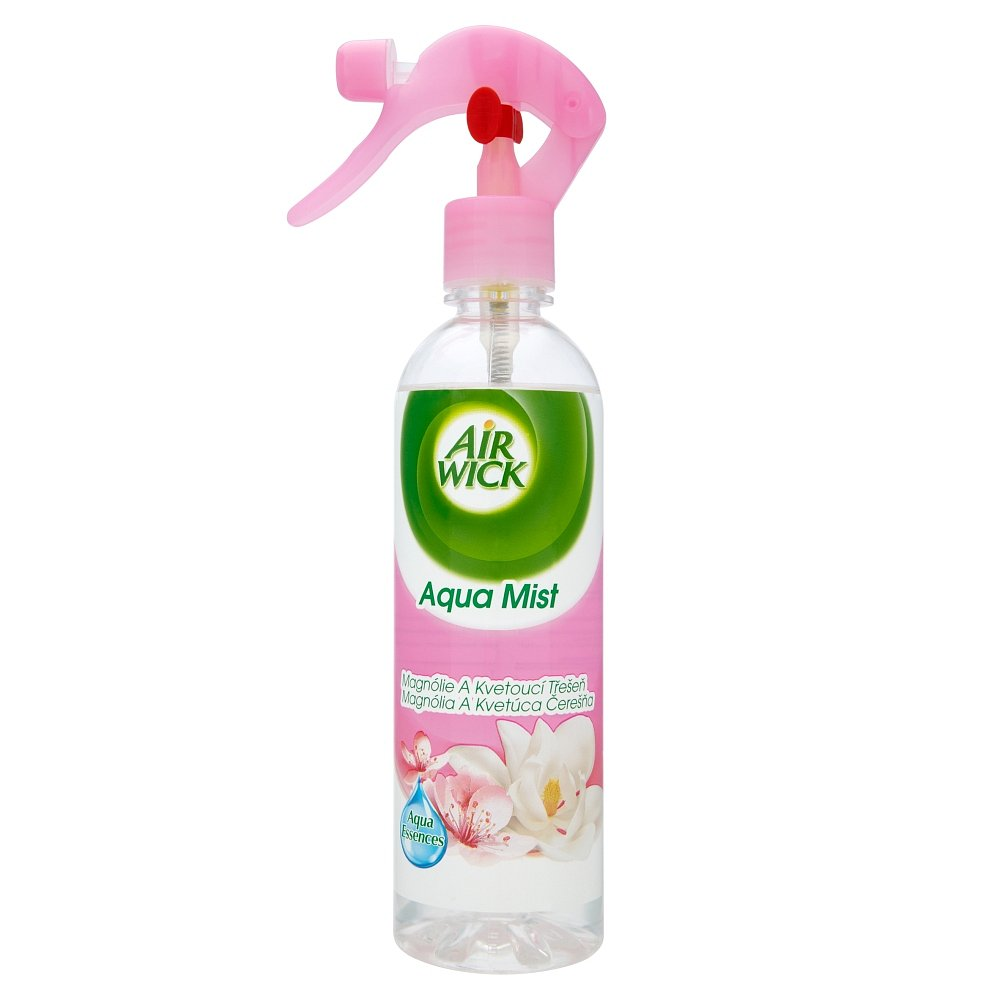Airwick aqua mist spray 345ml magnolie/třešeň