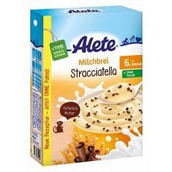Alete Mléčná semolinová kaše Stracciatella 6m+ 400 g