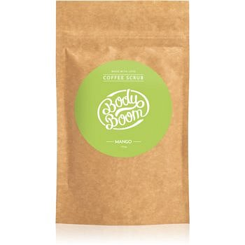 BodyBoom Mango kávový tělový peeling 100 g