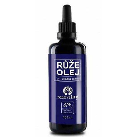 Renovality masážní a těl. olej Růže 100ml pipetka