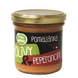 Green Apotheke Pomazánka olivy a peperoncini 140 g