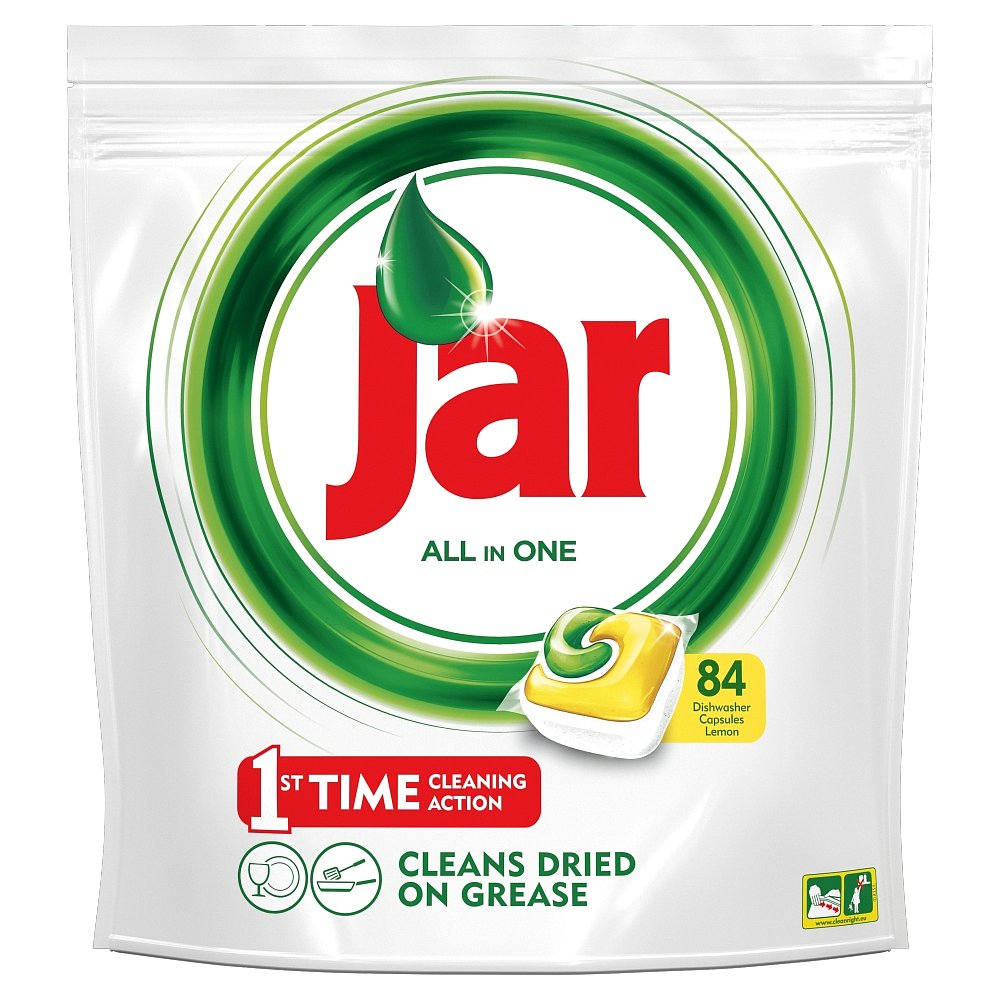 JAR Tablety do myčky Yellow 84 ks