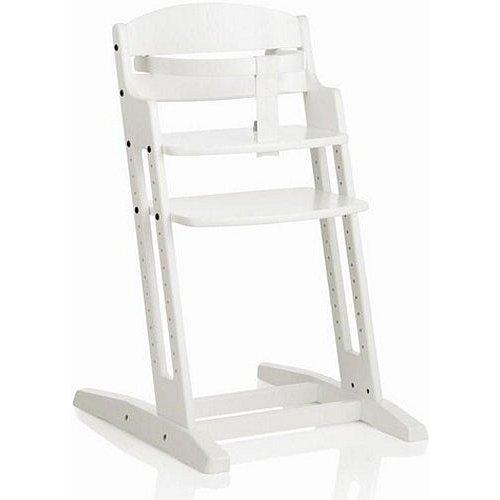 BABYDAN Dřevěná jídelní židlička DanChair, white