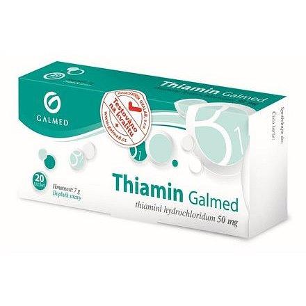Galmed Thiamin 50mg 20 tablet
