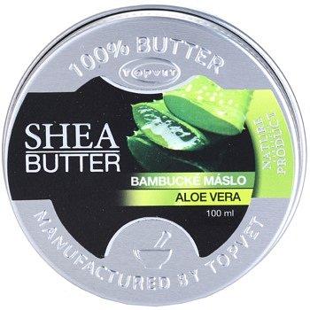 Topvet Shea Butter bambucké máslo s aloe vera 100 ml