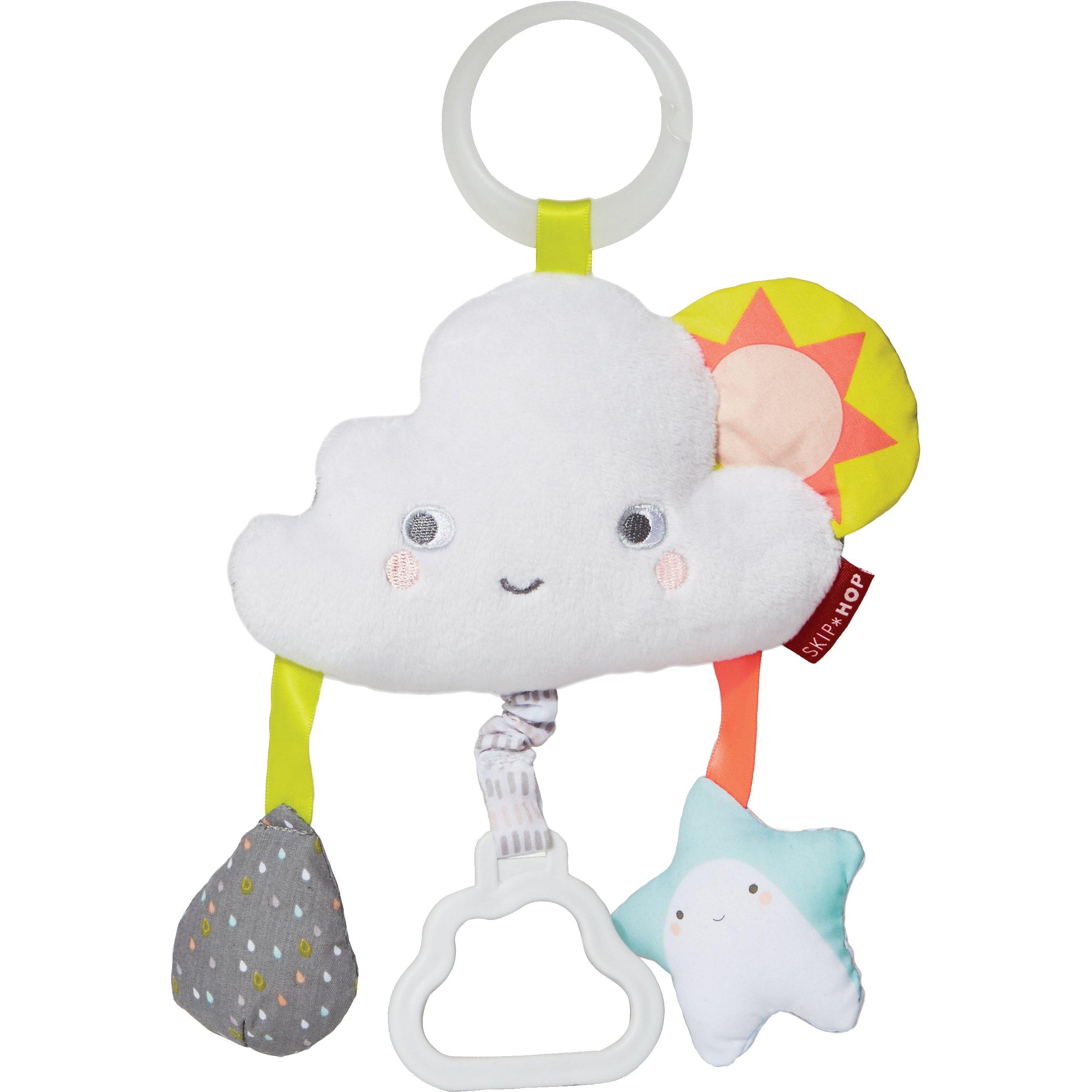 SKIP HOP Hračka na C kroužku Silver Lining Cloud Mráček 0 m+