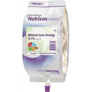 Nutrison Advanced Diason Low Energy perorální roztok 1000 ml