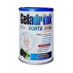 Geladrink FORTE HYAL černý rybíz práškový nápoj 420 g