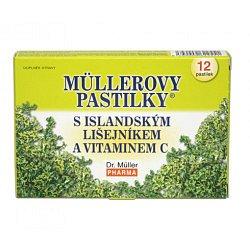 Dr.Müller Müllerovy pastilky s islandským lišejníkem 12 pastilek