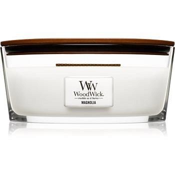Woodwick Magnolia vonná svíčka s dřevěným knotem (hearthwick) 453,6 g