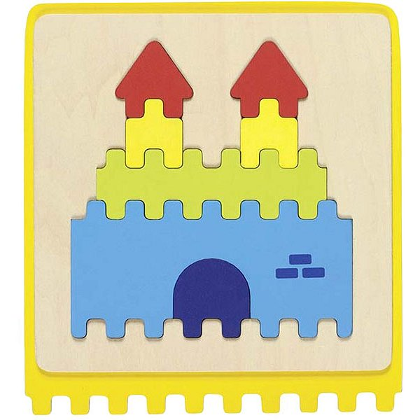GOKI Hmatová hra puzzle - Goki Hmatová hra puzzle didaktická pomůcka
