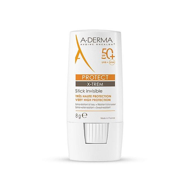 A-derma Protect X-TREM Transparentní tyčinka SPF50+ 8 g