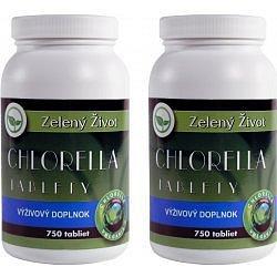 AROMATICA Chlorella tablety 750