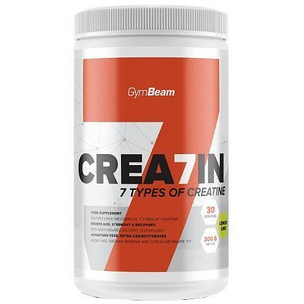 GymBeam Crea7in 300 g lemon lime