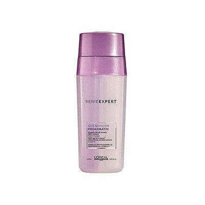 Dvousložkové uhlazující sérum s keratinem pro nepoddajné vlasy Serie Expert (SOS Up To 4 Days Smoothing Serum) 2 x 15 ml