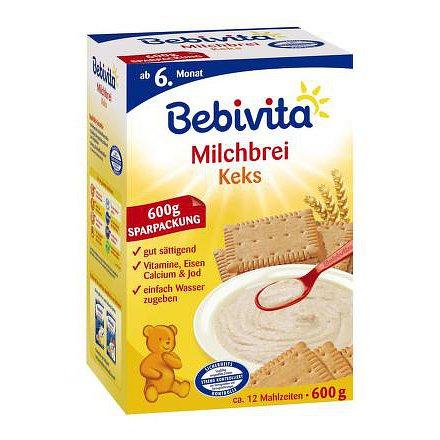 BEBIVITA KAŠE mléčná sušenková 600g