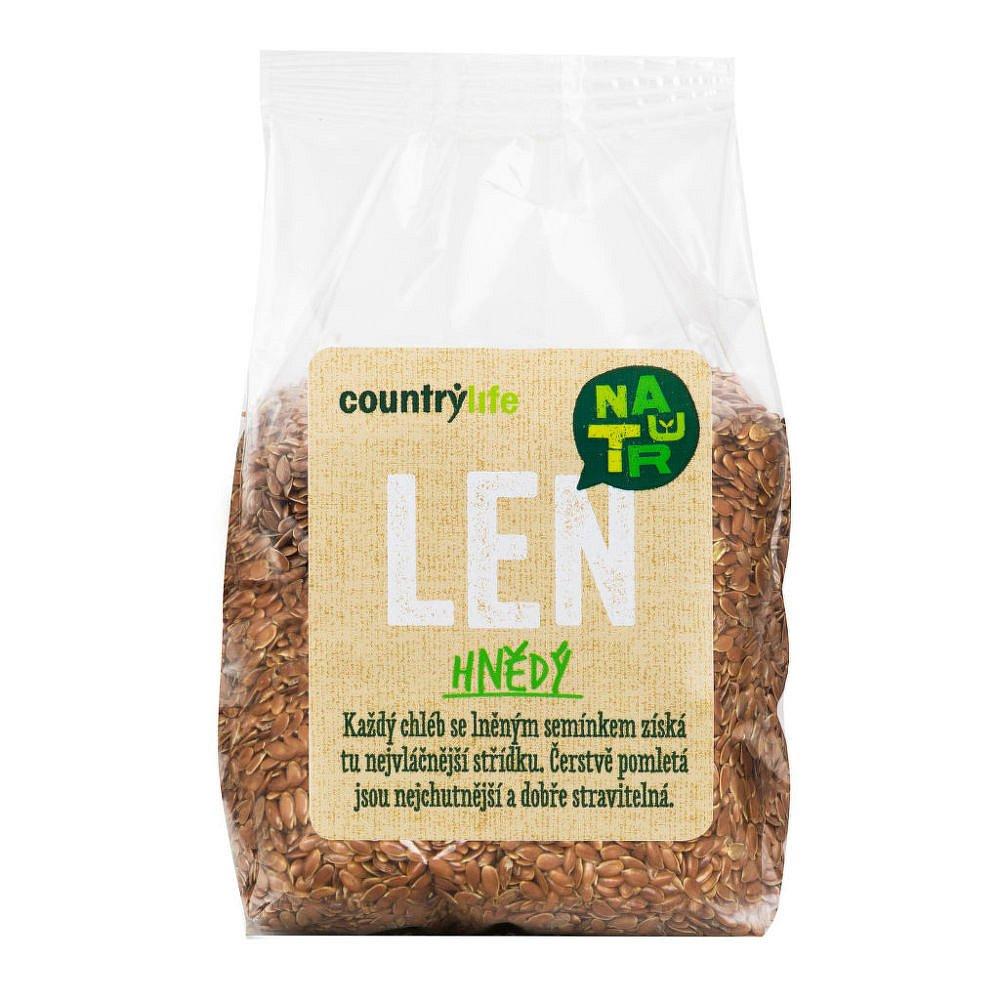 COUNTRY LIFE Len hnědý 300 g