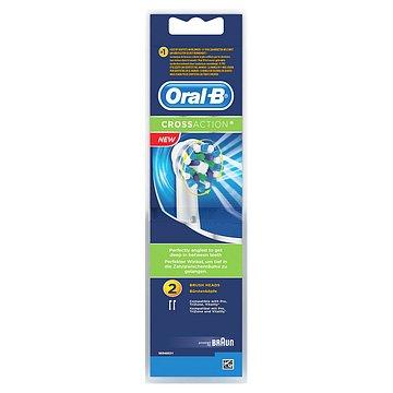 Oral B Cross Action náhrady na elektrický zubní kartáček 2 ks