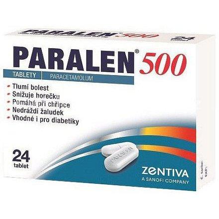 Paralen 500 tablety 24 ks