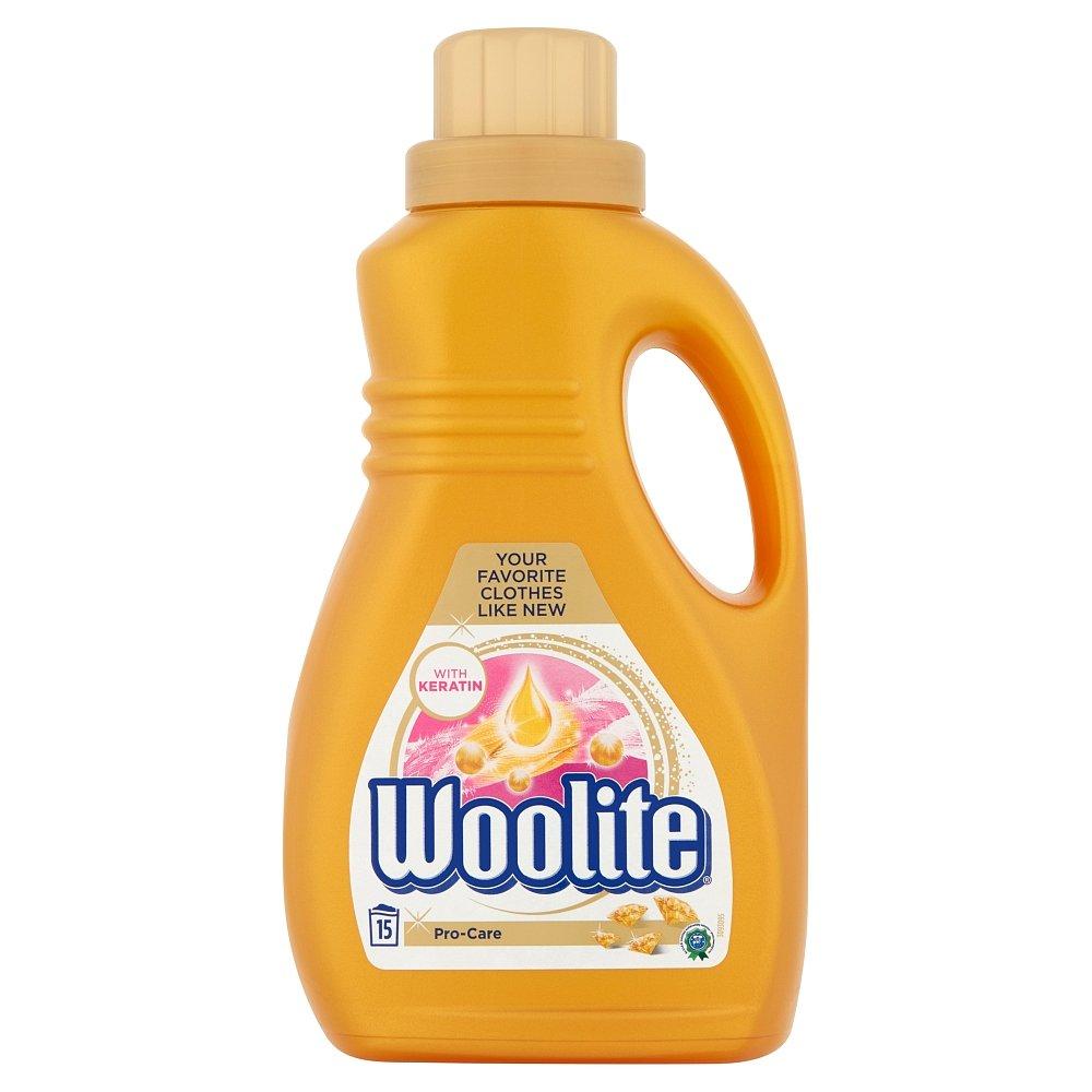 WOOLITE Pro-Care s keratinem Tekutý prací přípravek 15 praní 0,9 l