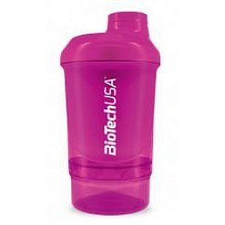 BiotechUSA Wave+ Nano shaker 300ml (+150ml) Magic Magenta