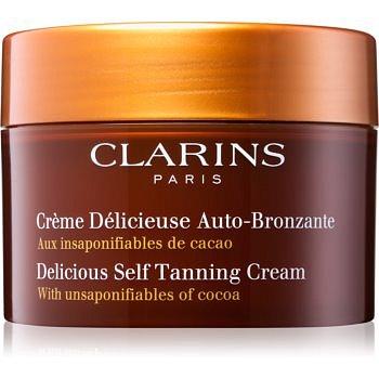 Clarins Sun Self-Tanners samoopalovací krém na tělo a obličej s kakaovým máslem  150 ml