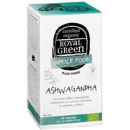 Royal Green Bio Ashwagandha 60 kapslí