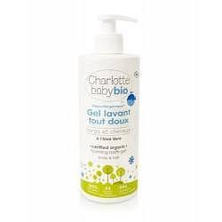 Charlotte BIO Baby Jemný dětský čisticí gel s Aloe Vera 500 ml