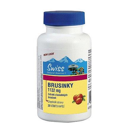 Swiss Brusinky 1132 mg orální tobolky 30