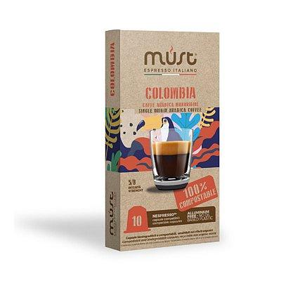 MUST Nespresso BIO Colombia 10 kapslí