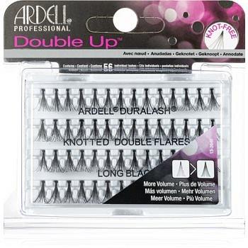 Ardell Double Up trsové nalepovací řasy bez uzlíku velikost Medium Black