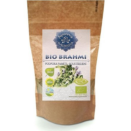 Ajurvéda bylinný prášek Brahmi 60g - podpora paměti