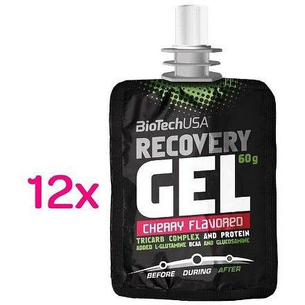 BiotechUSA Recovery Gel 12x60g Cherry