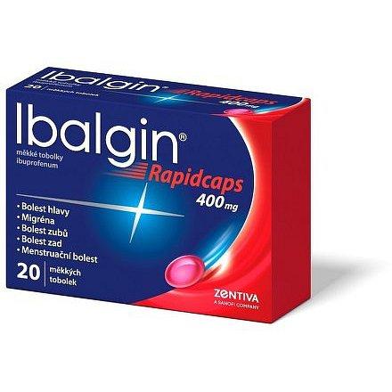 Ibalgin Rapidcaps měkké tobolky 20x400mg