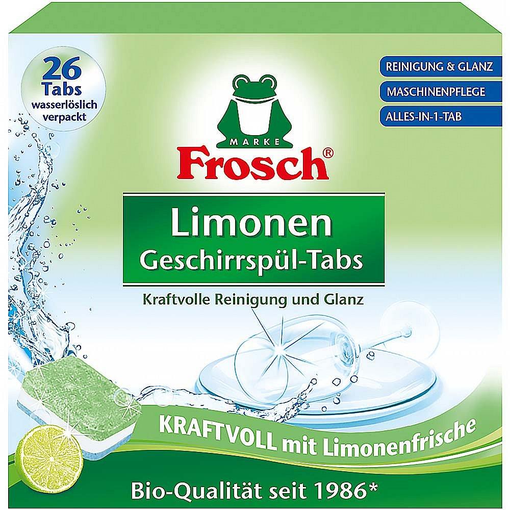 FROSCH EKO Tablety do myčky vše v 1 citron 26 tablet