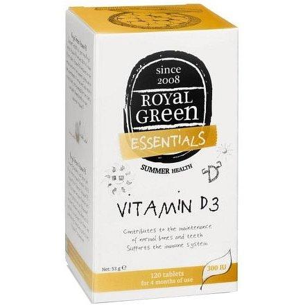 Royal Green Vitamin D3 120 kapslí