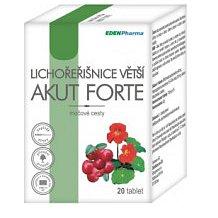 Edenpharma Lichořeřišnice větší akut forte tablety 20