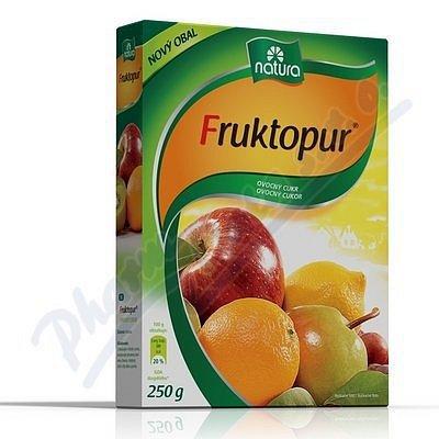 Fruktopur prášek  250 g ovocný cukr
