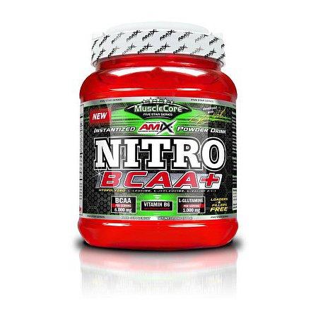 MuscleCore Nitro BCAA 500g green apple