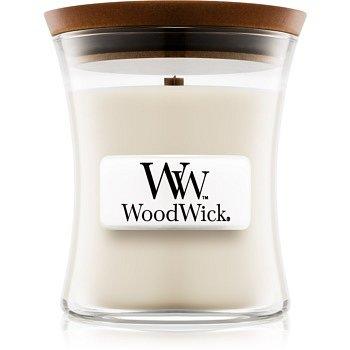 Woodwick Island Coconut vonná svíčka 85 g s dřevěným knotem