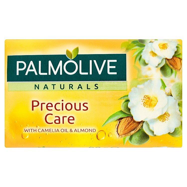Palmolive Naturals Precious Care Camellia & Almond toaletní mýdlo 90 g