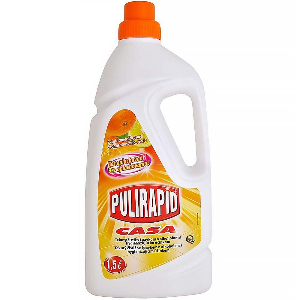 PULIRAPID CASA AGRUMI 1500 ml (univerzální čistič s čpavkem, citrusové ovoce), poškozený obal