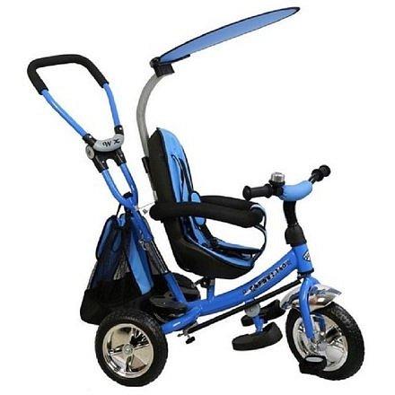 Baby Mix Dětská tříkolka Safari blue