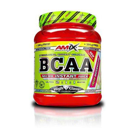 BCAA Micro Instant Juice 400+100g malinová limonáda