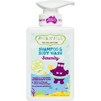 Jack N' Jill Serenity jemný sprchový gel a šampon pro děti 2 v 1 300 ml